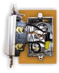 Single pole switch wiring