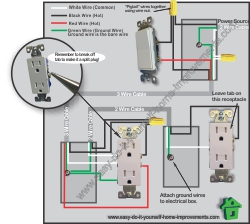 switch outlet wiring