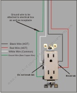 how to wire a split receptacle rh easy do it yourself home improvements com split receptacle wiring kitchen split receptacle wiring