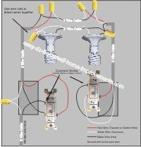 wiring a 3 way switch 3 way wiring diagram