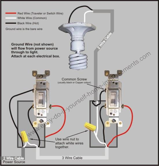 3 way switch wiring diagram three way switch wiring for light three way switch wiring #26