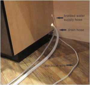 installing a dishwasher