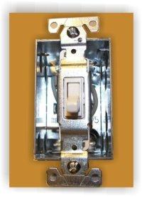 Wiring a single pole light switch