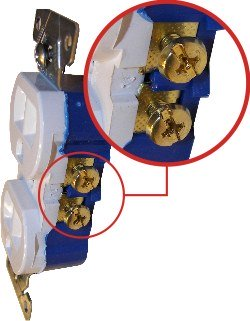 Split receptacle