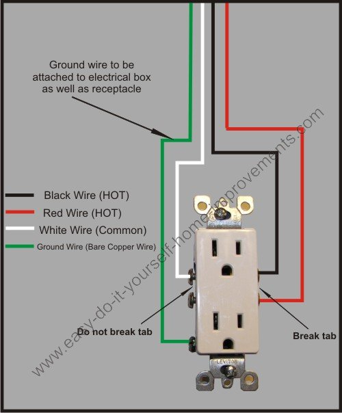 split plug wiring diagram rh easy do it yourself home improvements com wire wall outlet wiring diagram for wall outlet