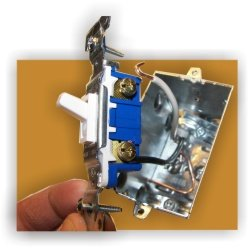 wiring a light switch? here's how Home Wiring Light Switch light switch wiring home wiring light switch